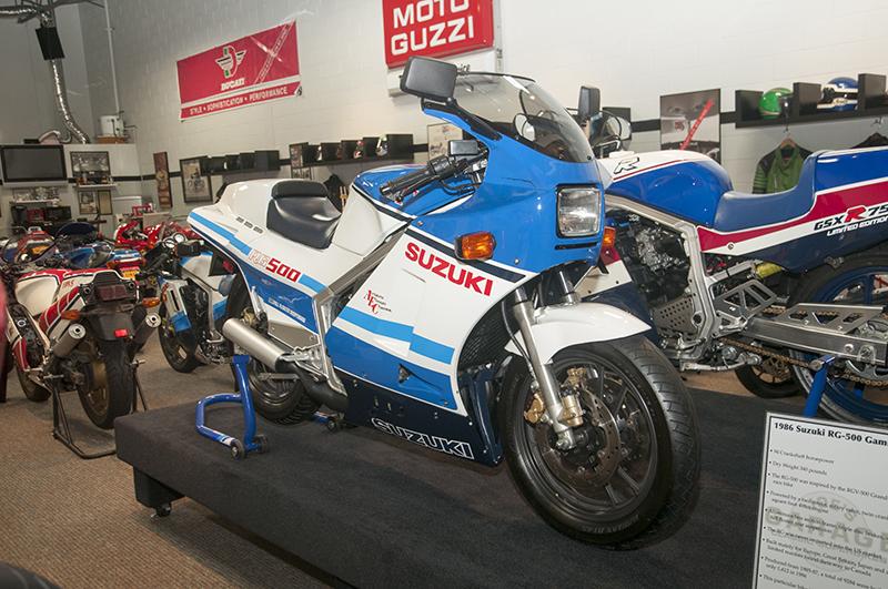1986 Suzuki RG-500 Gamma